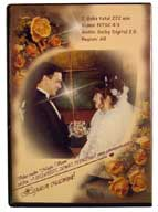 Wedding DVD. Rear cover.